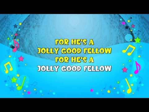 For He's A Jolly Good Fellow Sing-A-Long