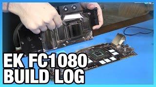 EK Pre Filled Waterblock Build Log w GTX 1080