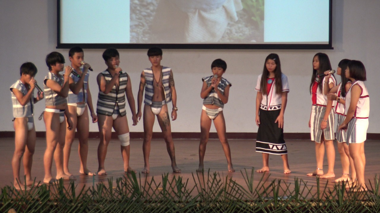 105原住民族研討會在斗六家商-蘭嶼高中表演