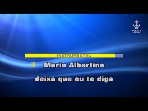 ♫ Demo - Karaoke - MARIA ALBERTINA - Humanos