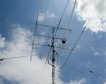 Antena Dipolo de media onda | ea5mon
