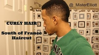 How To Get Curly Hair + South of France Haircut/Usher Cut