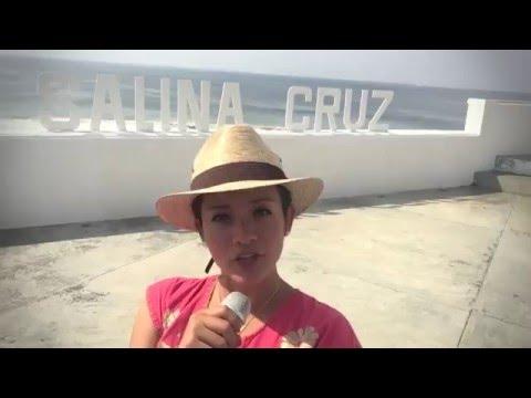 De paseo por el puerto de Salina Cruz