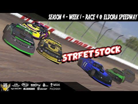 iRacing DIRTcar Class C Street Stocks Week 1 Race 4 @ Eldora Speedway