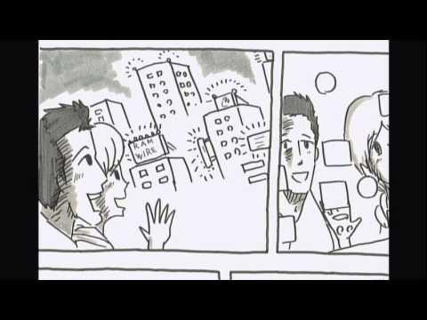 鉄拳パラパラマンガ「名もない毎日」 RAM WIRE ミュージックビデオ
