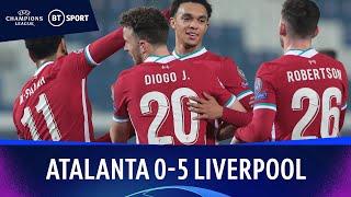 Atalanta v Liverpool (0-5) | Champions League Highlights