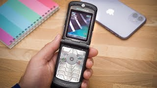 The Motorola RAZR V3 was the coolest phone in the world