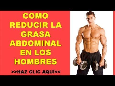Quemar grasa abdominal hombres