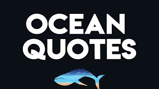 Ocean Quotes & Sayings   Ocean Quotes Wall Decor