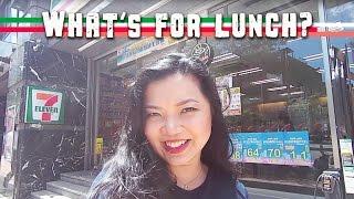 Lunch Ideas Taiwan's 7-11 Vlog 吃午餐 台灣的7-11