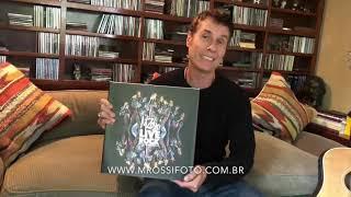 """Dinho fala sobre """"MRossi Live Rock"""" novo livro do fotografo"""