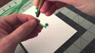 Quilling Scroll Tutorial- Basic Quilling Scroll How-To