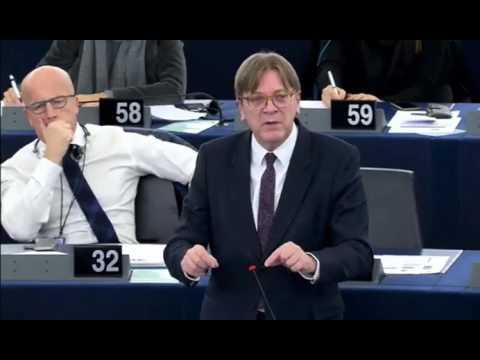 Guy Verhofstad 18 Jan 2017 plenary speech on European Council meeting 15DEC2016