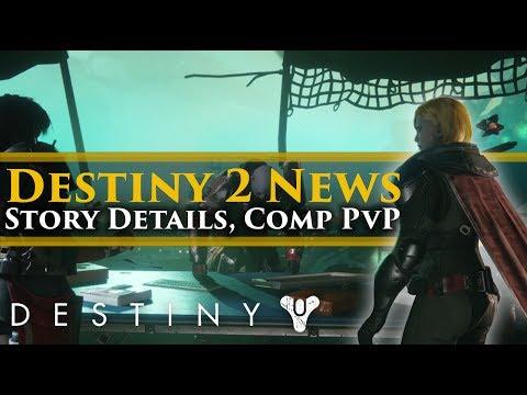 Destiny 2 News - Ghaul Story Campaign Details, Competitive PVP Playlist, Dialogue options, Exotics!