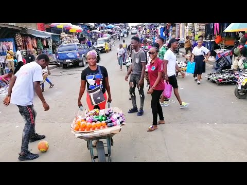 What $10 Can Get You In Monrovia/Liberia For A Day!!!