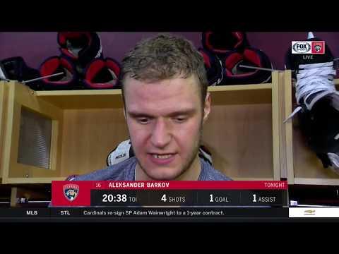 POSTGAME REACTION: Florida Panthers vs. Columbus Blue Jackets 10/11/2018