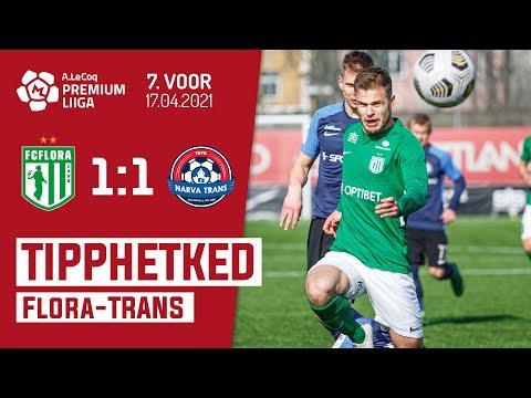 Flora Tallinn Trans Narva Goals And Highlights
