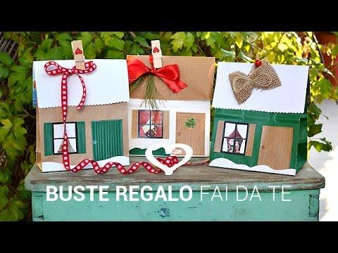 tutorial come realizzare buste regalo fai da te la