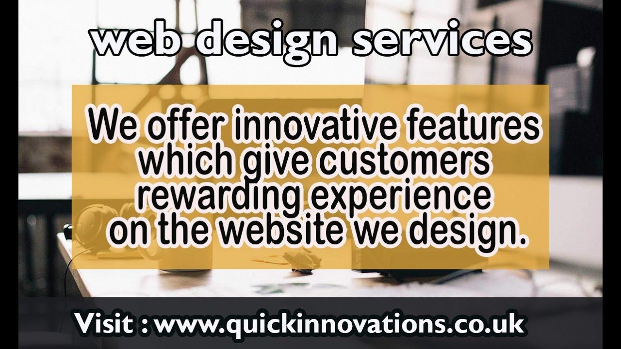 Web design services web designers london web design for Service design agency london