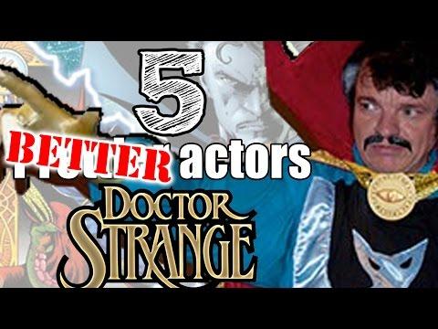 5 actors BETTER for Dr. Strange Movie than Joaquin Phoenix