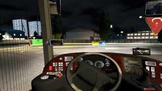 Euro Truck Simulator 2- BUS Mod Terminal+ Passengers+ Link