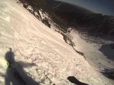 Mount Washington - Tuckerman Ravine - Headwall Lip