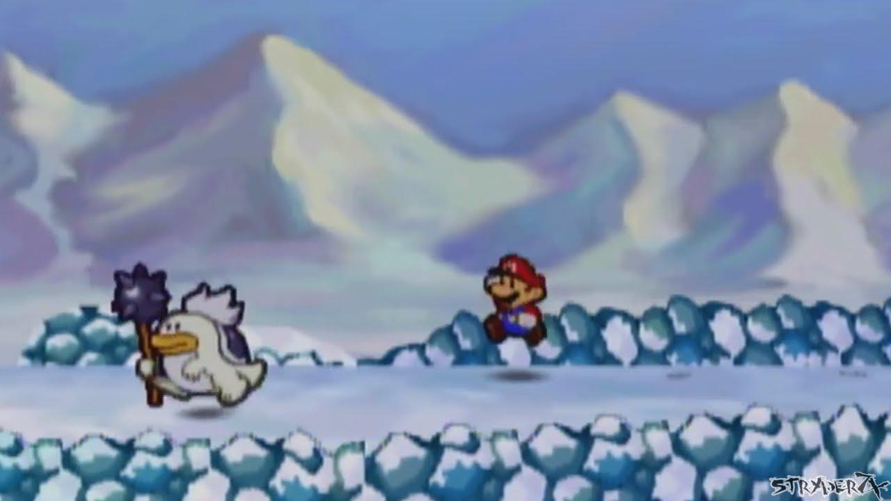 Shiver Mountain Music Corruption Glitch - Paper Mario 64 - YouTube