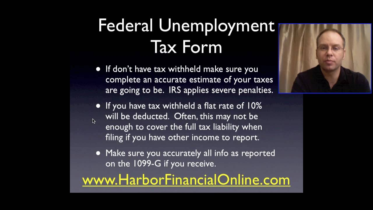 Federal Unemployment Tax Form Tips for 2012 2013 YouTube – Unemployment Tax Form