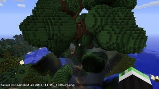 Minecraft: Epischen Riesenbaum bauen Tutorial (World-Edit)