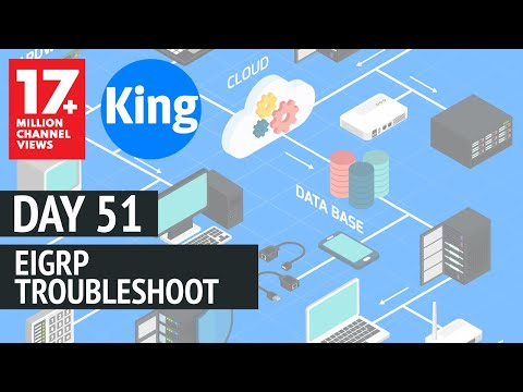 Free CCNA | EIGRP Troubleshooting - Day 51 | 200-125 | Cisco Training