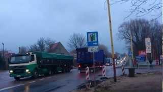 protest rolników w Szczecinku part VIII 01.02.2013