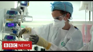 Hospital frontline: fighting a new disease with no effective drugs or vaccine - BBC News