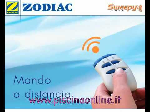 Zodiac sweepy free robot pulitore per piscine di piscina on line youtube - Robot piscine sweepy free zodiac ...