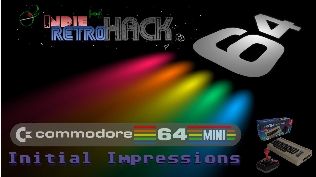 The C64 Mini – Initial Impressions – IndieRetroHack
