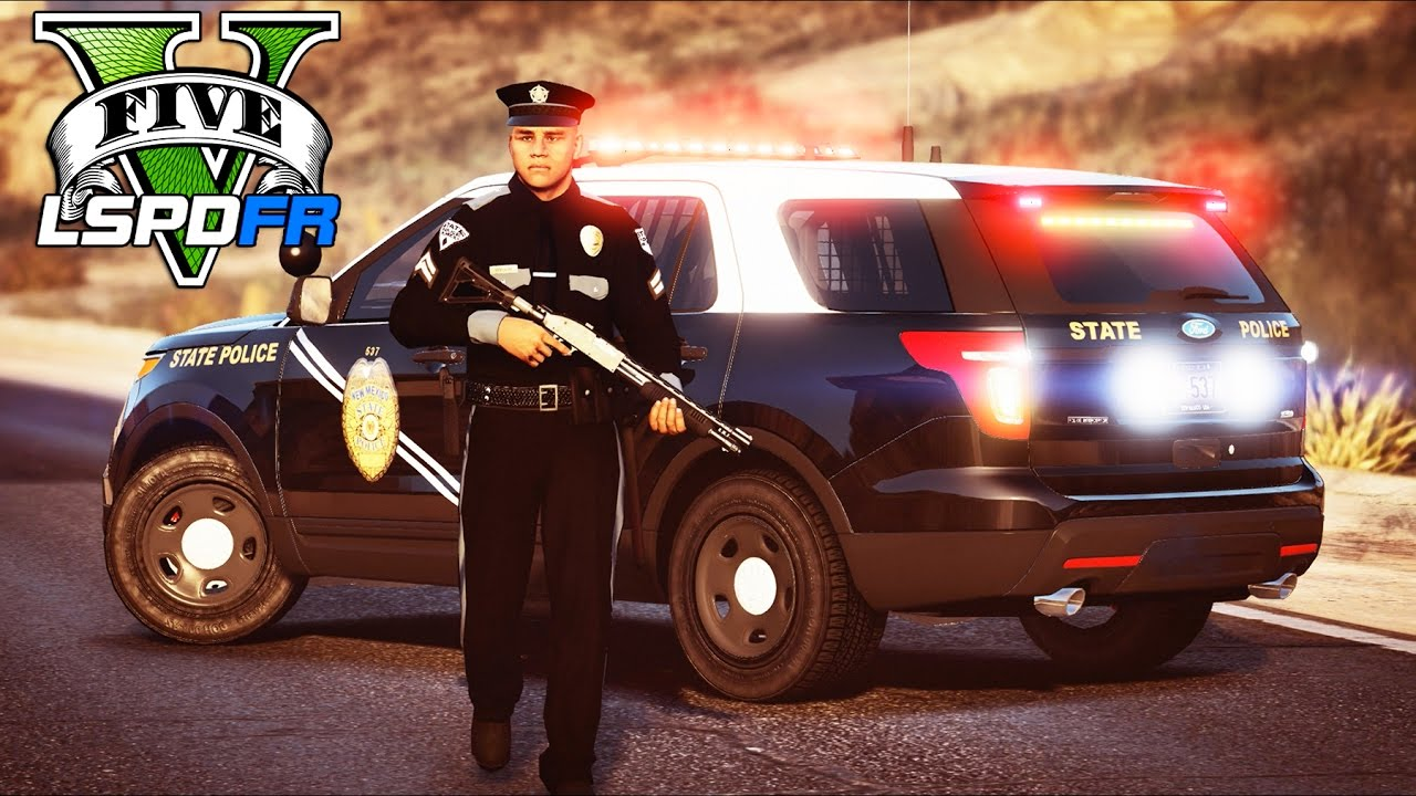 GTA 5 - LSPDFR Ep245 - New Mexico State Police Traffic Division!!