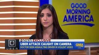 Female Doctor Attacks Uber Driver Received Backlash And Get Suspended.