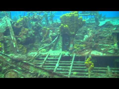 MV Keith Tibbetts Ship Wreck Cayman Brac 10 04 11