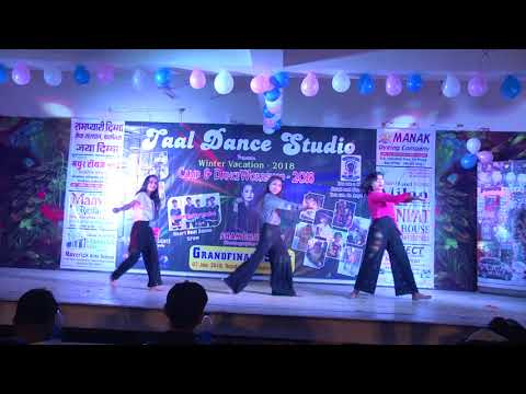 Taal Dance Studio Winter Camp Grand Show contemporary performance 2018