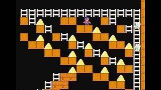 NES Championship Lode Runner Stage11-20 (walkthrough)