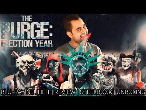 The Purge: Election Year | Blu-ray Neuheit | Review | Steelbook | Unboxing