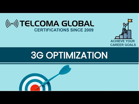 3G Optimization course by TELCOMA Training