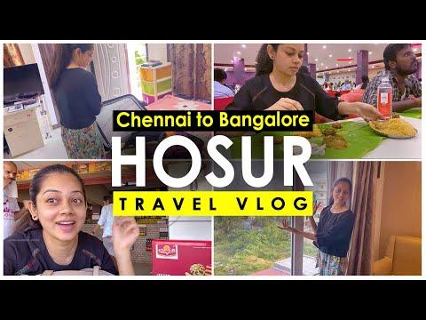 Chennai To Bangalore | Enroute Hosur | Travel Vlog | Anithasampath Vlogs| Travel & Events
