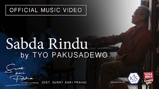 Tio Pakusadewo - Sabda Rindu OST. Surat dari Praha [Official Music Video]