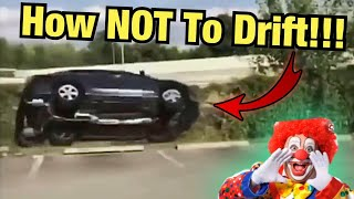 When Insta-Clowns Watch Tokyo Drift!!! (Instagram Car Fails)