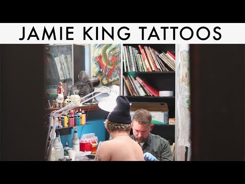 TATTOO ARTIST INTERVIEW: JAMIE KING