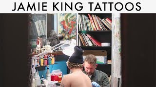 TATTOO ARTIST INTERVIEW: JAMIE KING