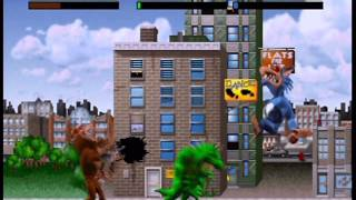 Rampage World Tour Three-Player Playthrough (Actual N64 Capture) - Part 1