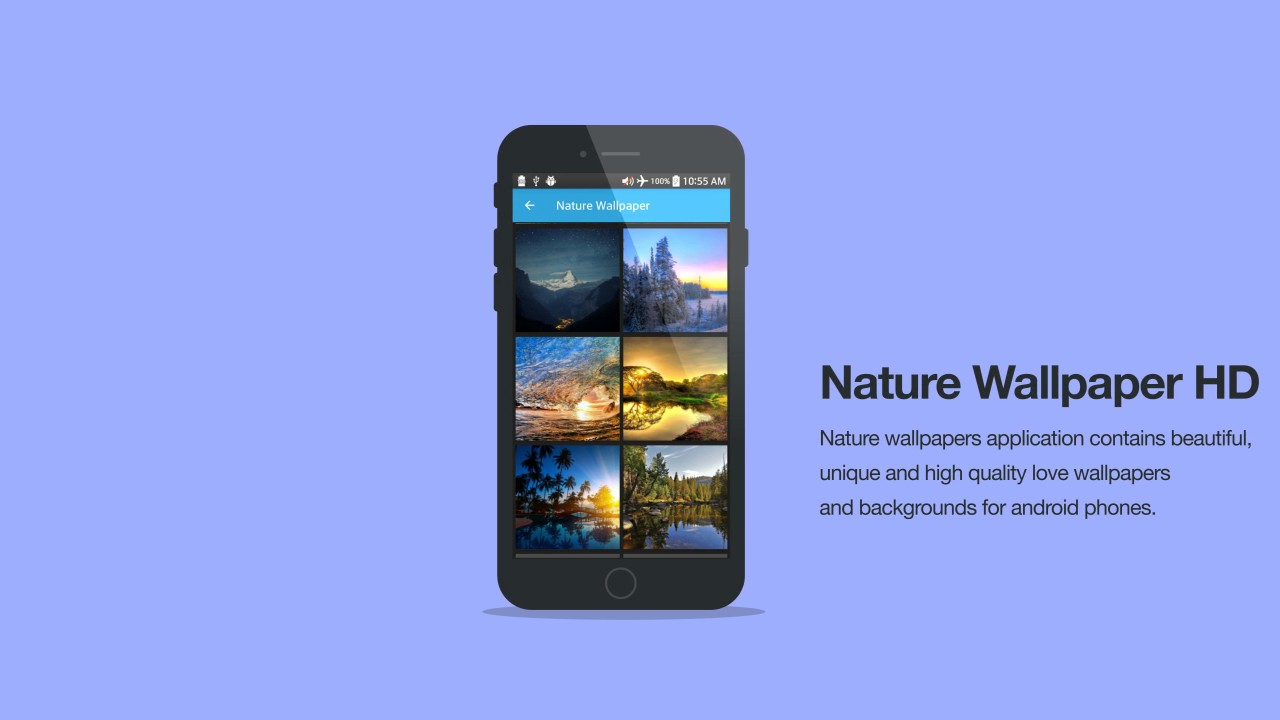 Nature Wallapers Hd Backgrounds Android App Youtube