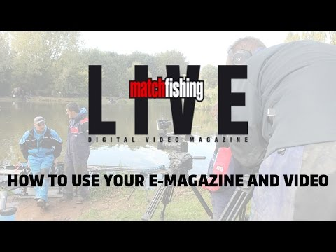 HOW TO USE AND LOG IN TO MATCH FISHING LIVE