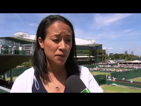 Anne Keothavong checks in with Live @ Wimbledon